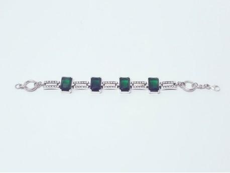 14k Gold & 925 Silver Bracelet for Women