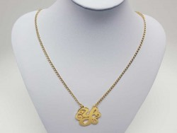 Stainless Chain with Monogram