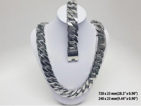 Stainless Steel Set for Men